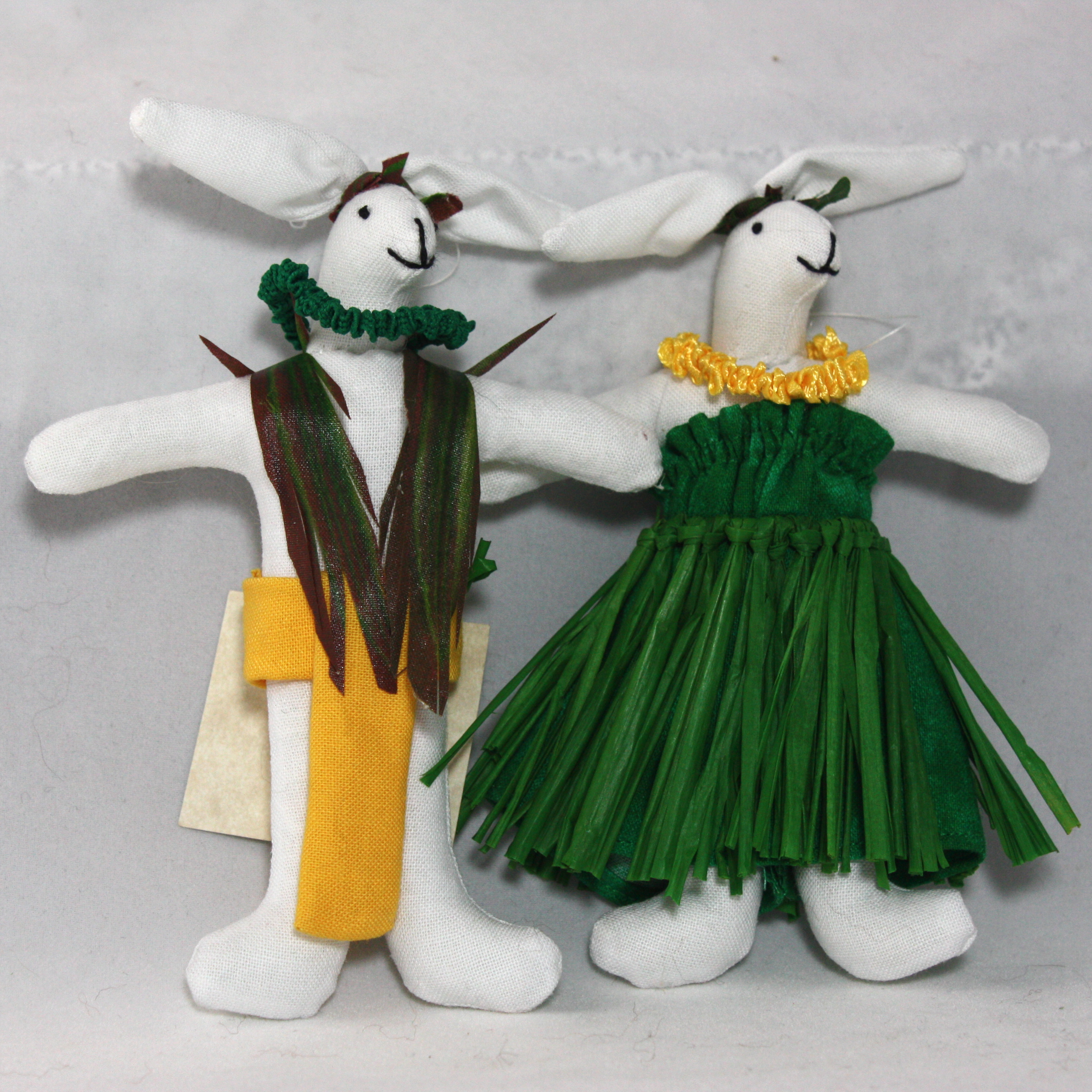Ornament – Hula Rabbit